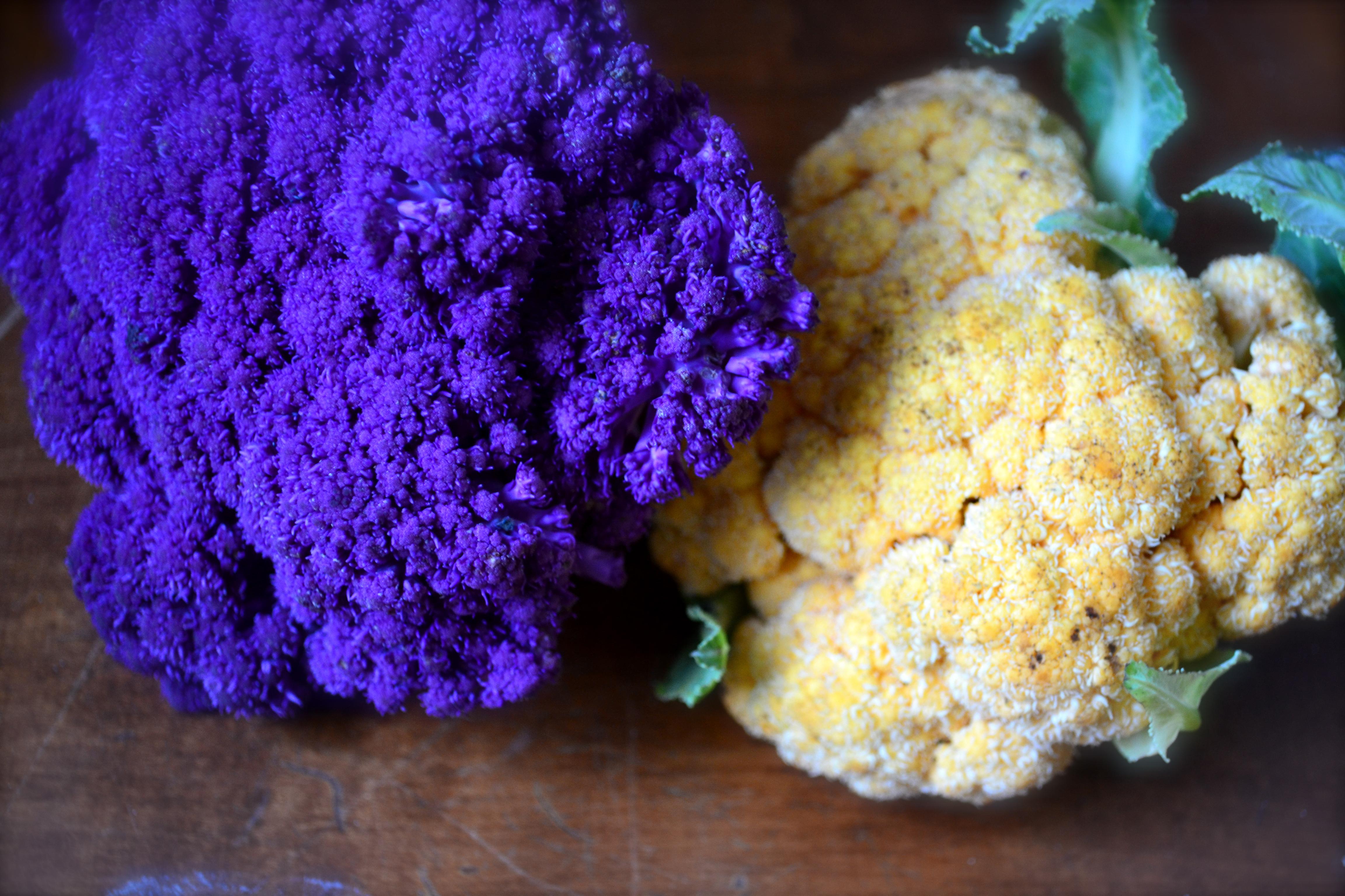 Roasted Cauliflower And Beet Salad With Hazelnuts Big