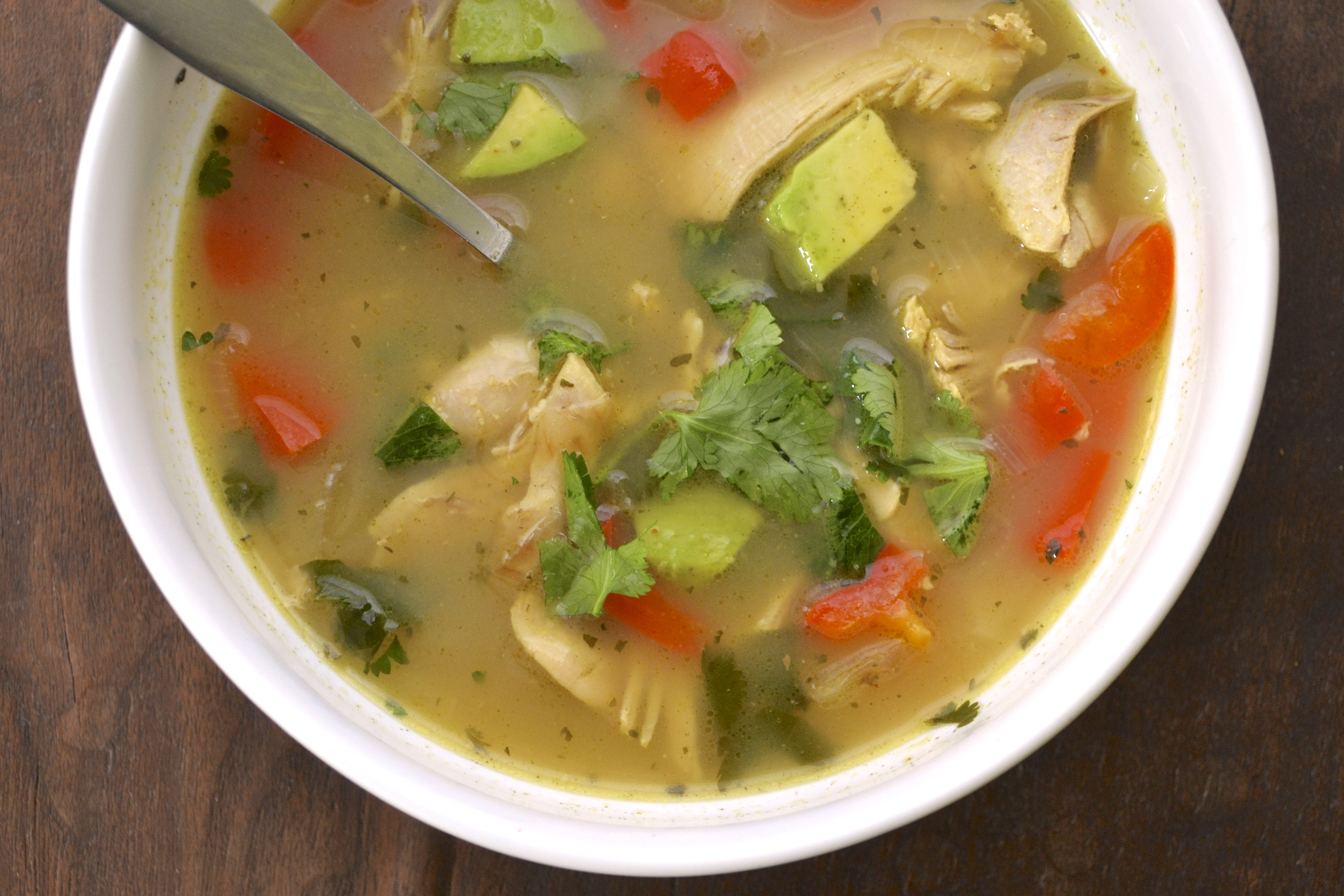 Mexican Chicken and Lime Soup (Gluten Free, Grain Free, Dairy Free ...