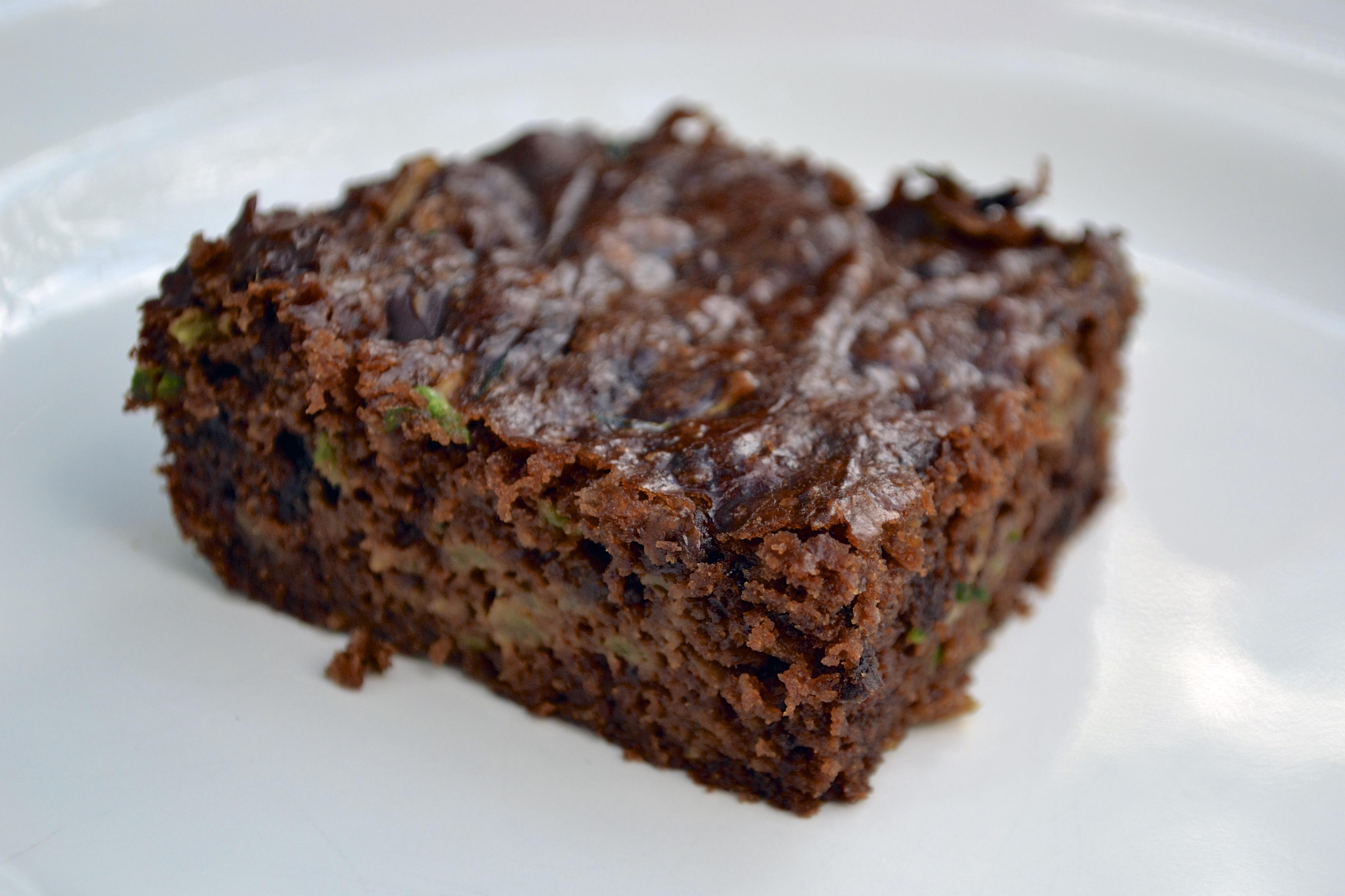 Gluten-Free Chocolate Chip Zucchini Brownies Recipe — Dishmaps