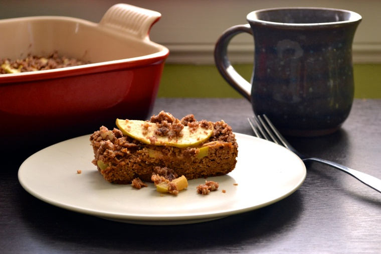 Pumpkin and Apple Coffee Cake - Big Eats Tiny Kitchen