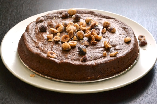 Grain Free Chocolate Flourless Cake