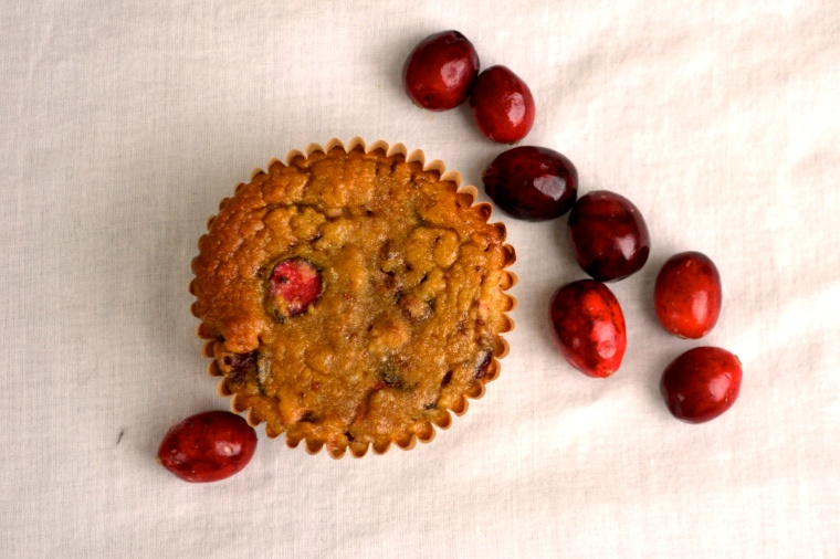 Cranberry Banana Muffins (Grain Free, Nut Free, Paleo Friendly) - Big Eats Tiny Kitchen