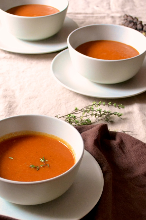 Creamy Classic Tomato Soup - Big Eats Tiny Kitchen