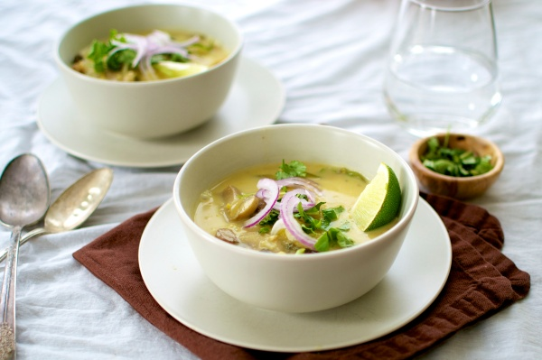 Paleo Thai Coconut Curry Soup - Big Eats Tiny Kitchen (Gluten Free, Grain Free, Paleo, Dairy Free)