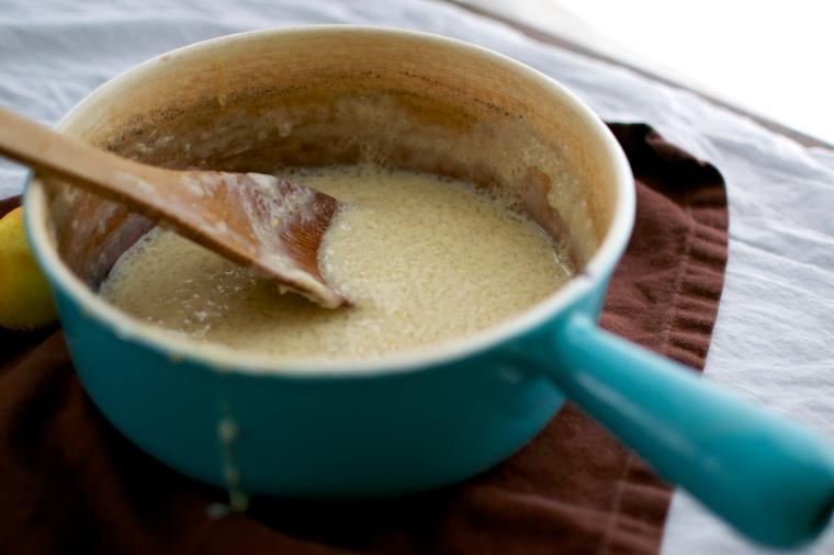 Lemony Tapioca Pudding / Big Eats Tiny Kitchen