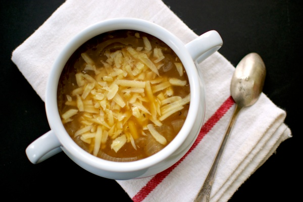 Gluten Free French Onion Soup / Big Eats Tiny Kitchen