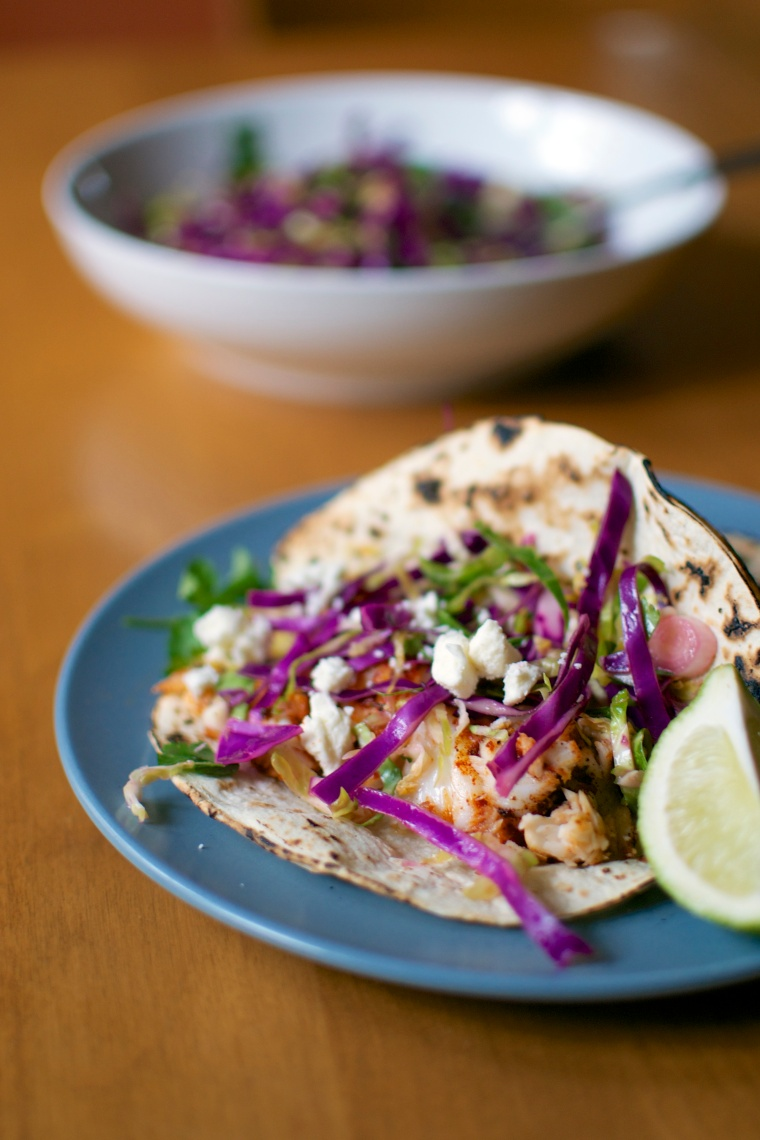 Tilapia Fish Tacos (Gluten Free)