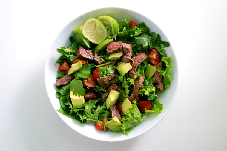 Carne Asada Salad / Big Eats Tiny Kitchen