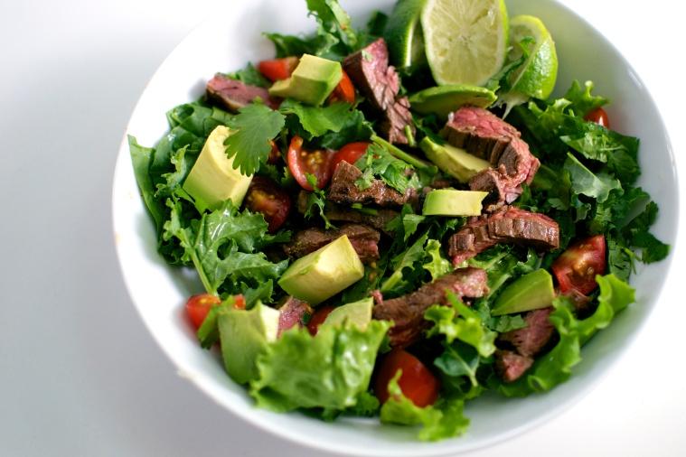 Carne Asada Salad / Big Eats Tiny Kitchen