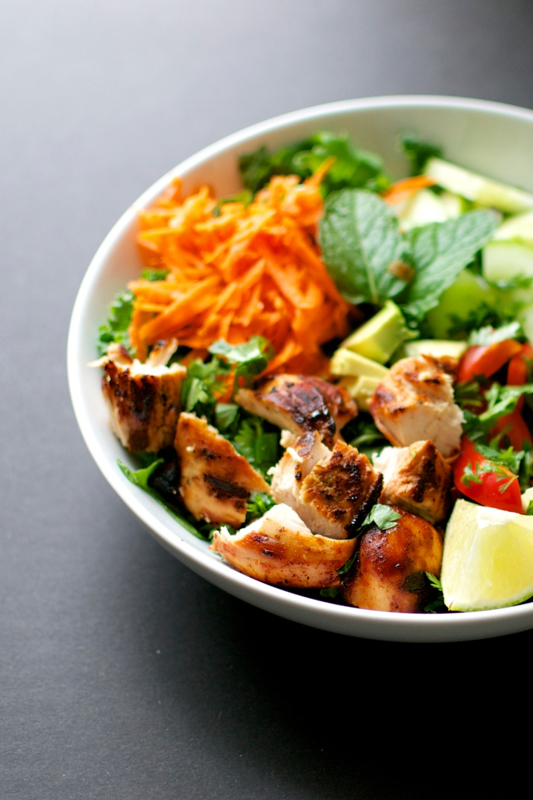 Thai Chicken Salad / Big Eats Tiny Kitchen
