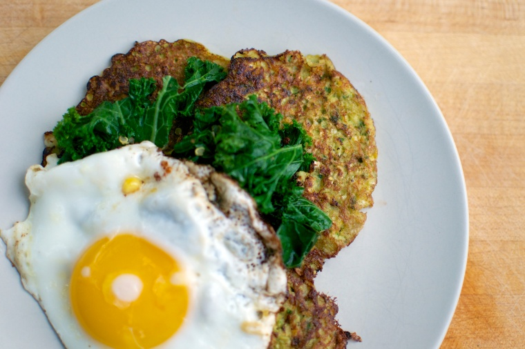 Gluten Free Corn Cakes // Big Eats Tiny Kitchen