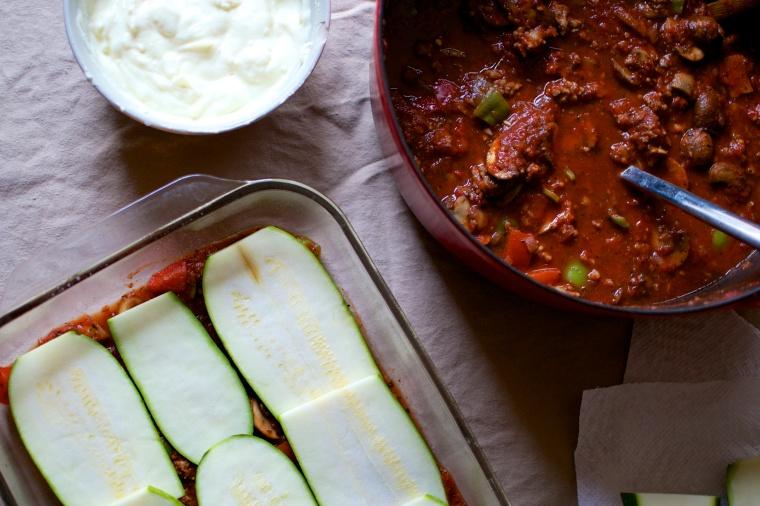 Gluten Free Zucchini Lasagna // Big Eats Tiny Kitchen