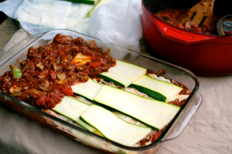 Gluten Free Zucchini Lasagna // Big Eats Tiny Kitchen