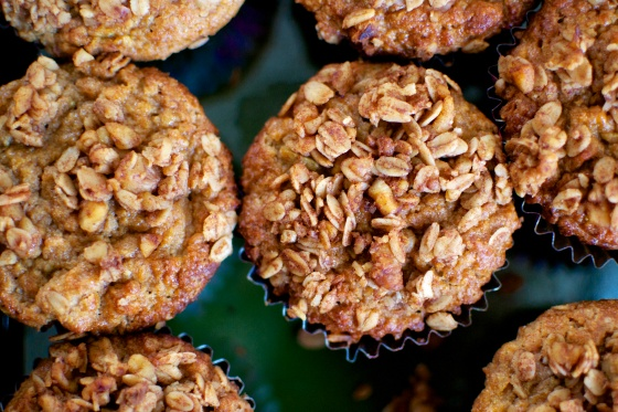 ... Apple Spice Muffins with Walnut-Oat Streusel | BIG EATS...tiny kitchen
