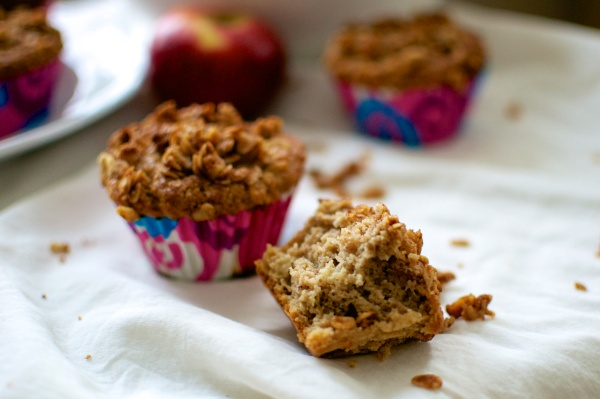 Gluten Free Apple Spice Muffins // Big Eats Tiny Kitchen