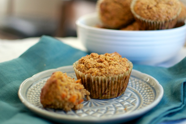Gluten Free Carrot-Apple Muffins / Big Eats Tiny Kitchen