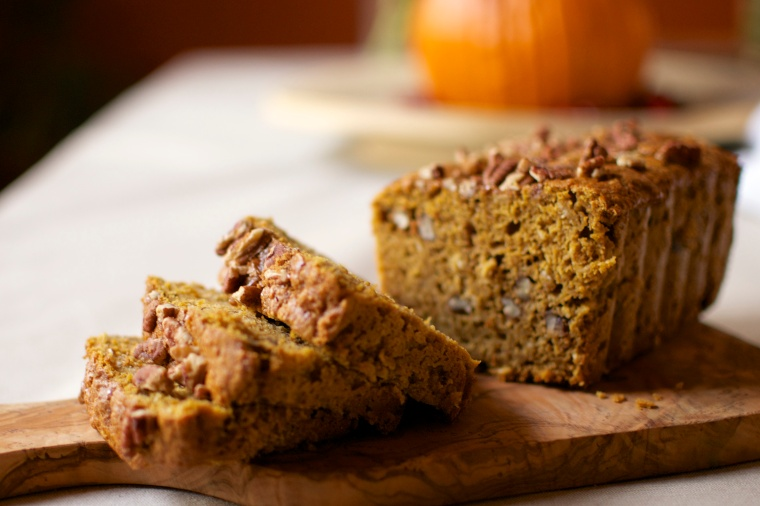 Gluten Free and Dairy Free Pumpkin Bread // Big Eats Tiny Kitchen