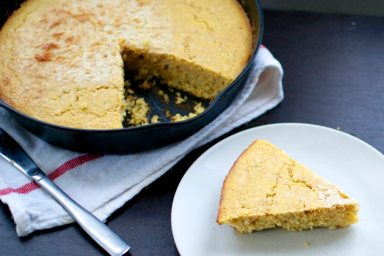 Gluten Free Skillet Cornbread // Big Eats Tiny Kitchen