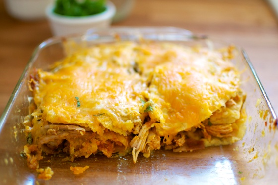 Green Chili Chicken and Kobucha Squash Enchiladas (Gluten Free) // Big Eats Tiny Kitchen