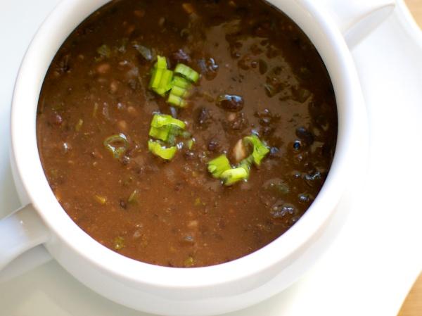 Easy Black Bean Soup // Big Eats Tiny Kitchen