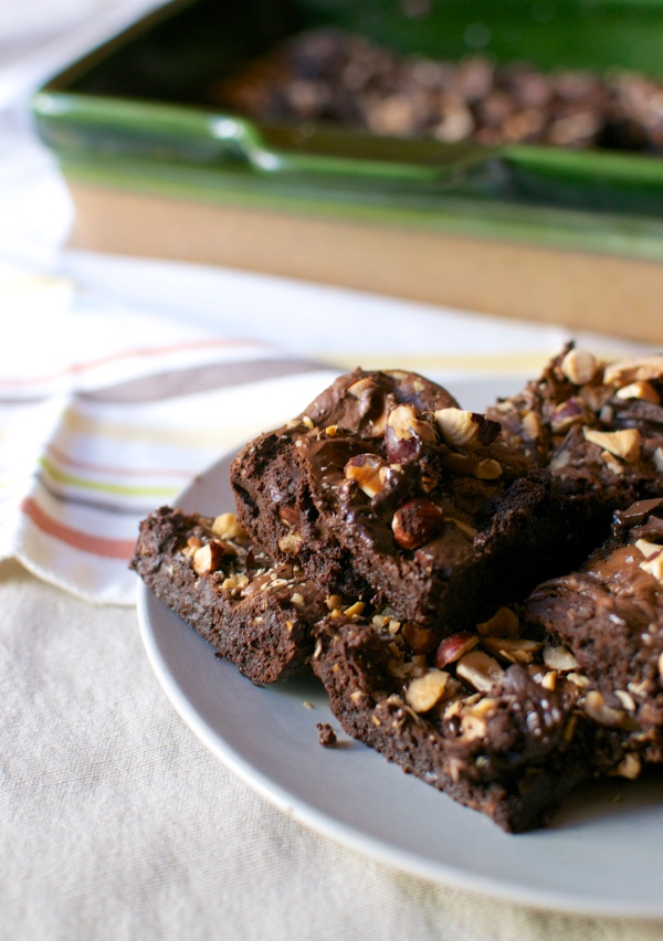 The Best Flourless Brownies (Grain Free) // Big Eats Tiny Kitchen